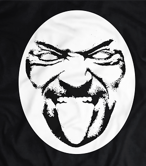 The Undertaker T-shirt,Tongue sticking out, the dead man,the wrestlemania streak