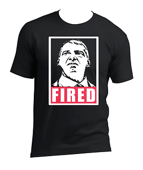 Vince McMahon,you're Fired,WWE,RAW,SMACKDOWN,WORLD WRESLTING ENTERTAINMENT,PRO WRESTLING TEES,HEELSHIRTS, HEEL SHIRTS,VINTAGE