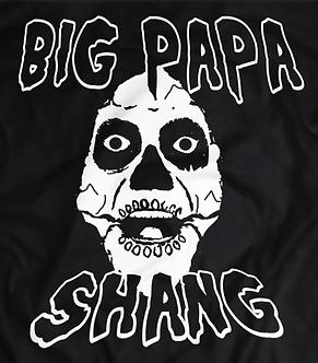 Big Papa Shango T shirts, Misfits font,The God Father hoe train,heel shirts