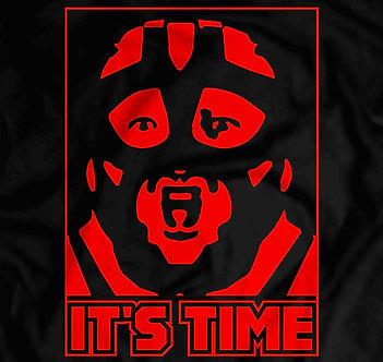 It's time, its vader time, big van vader tee,Leon Allen White,wcw,wwf,new japan pro wrestling
