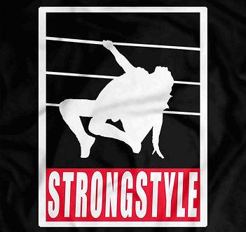 King of Strongstyle, Shinsuke Nakamura,Obey Style shirt, pro wrestling tees,heelshirts,New japan pro wrestling,the artist wwe