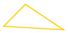 Trójkąt żółty linie.png