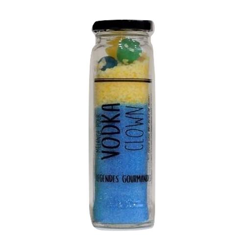 Cocktail Vodka Clown (confiseries et citron)