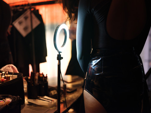 behind the scenes, lingerie, photographic art