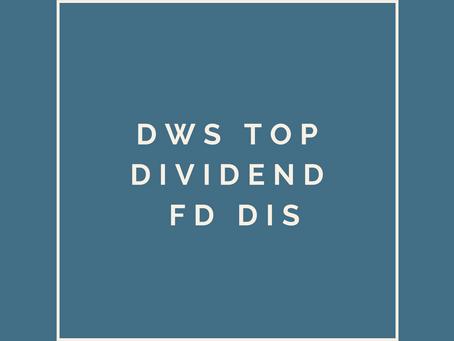 DWS Top Dividende FD Dis