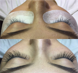 Eyelash touch up after 5 weeks