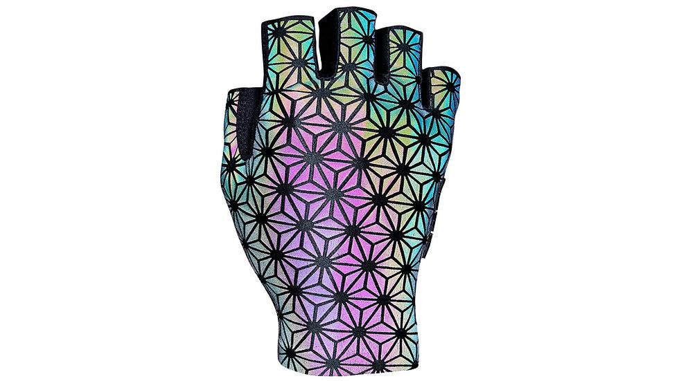 Светоотражающие перчатки Supacaz Reflective Oil Slick