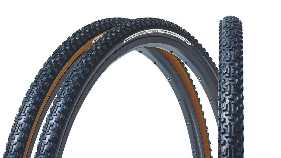 """Покрышка 28""""/700 Panaracer GravelKing EXT+ Plus для гравийного велосипеда"""