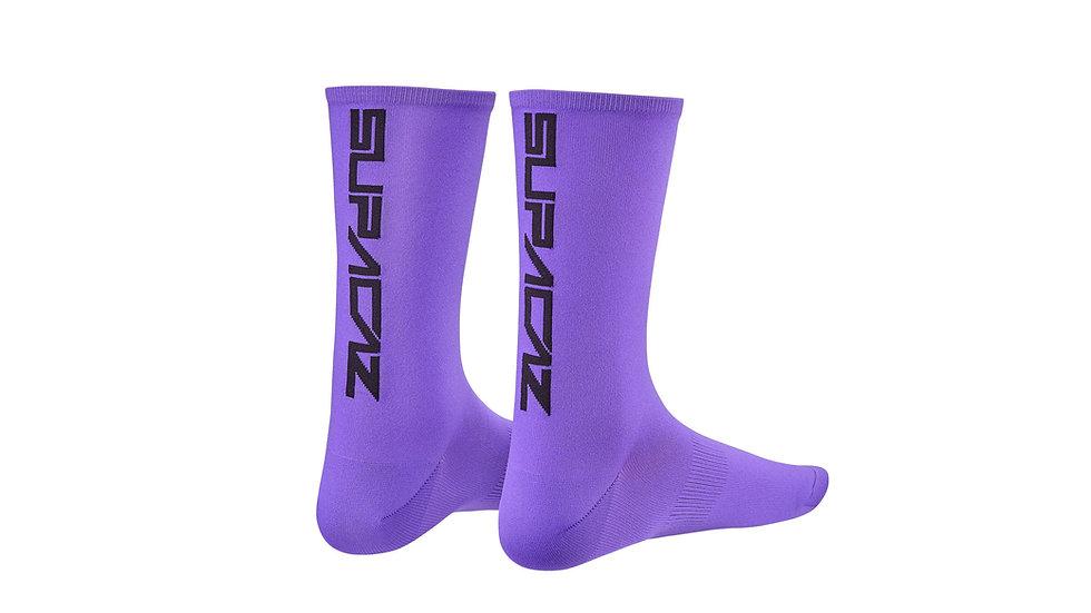 Велосипедные носки Supacaz SupaSox Straight Up SL