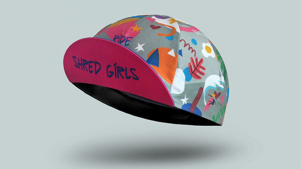 Велосипедная кепка Bello Shred Girls