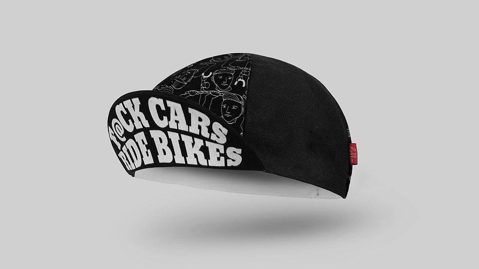 Велосипедная кепка Bello F@CK CARS RIDE BIKES