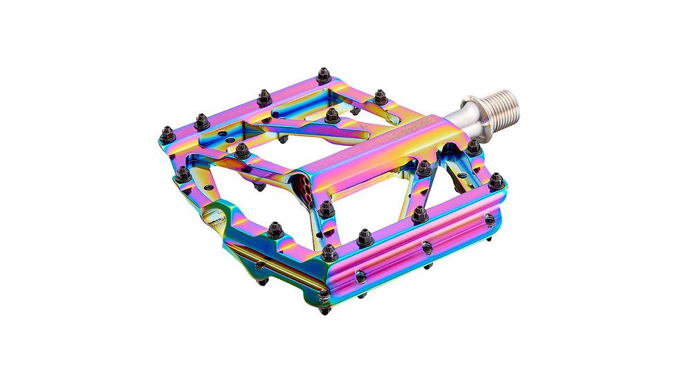Педали Supacaz Krypto DH Pedal – CNC Alloy – Oil Slick