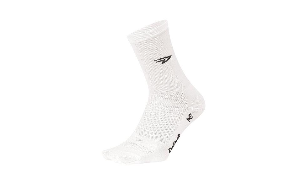 """Велоноски DeFeet Aireator 5"""" D-Logo White"""