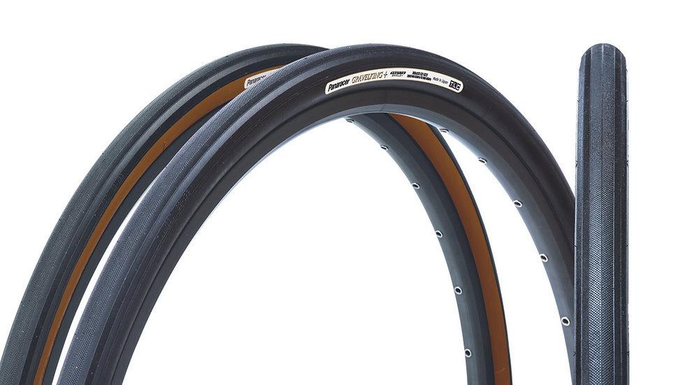 """Покрышка 28""""/700 Panaracer GravelKing Slick+ Plus для гравийного велосипеда"""