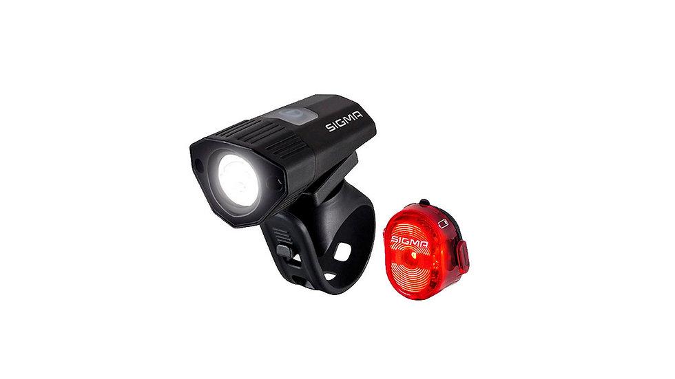 Комплект фонарей для велосипеда Sigma Sport Buster 100 K-SET