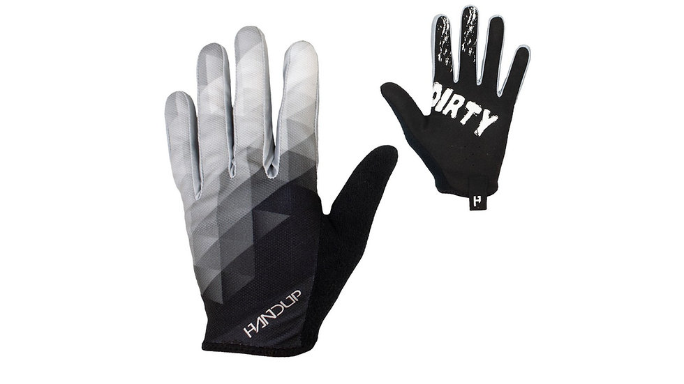 Перчатки велосипедные Handup Prizm - Black / White