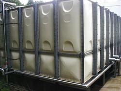 1.受水槽本体(貯水槽清掃 受水槽管理 FRP補修)