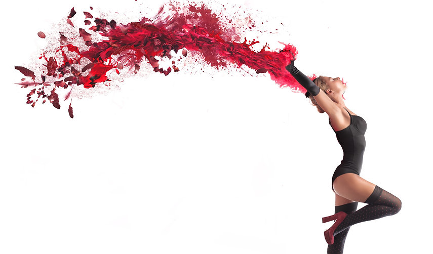 Isolated beautiful dancer with a wake of red paint coming out from her hands_edited.jpg