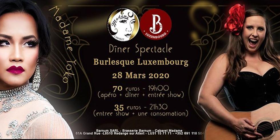 Burlesque Luxembourg au Cabaret Madame
