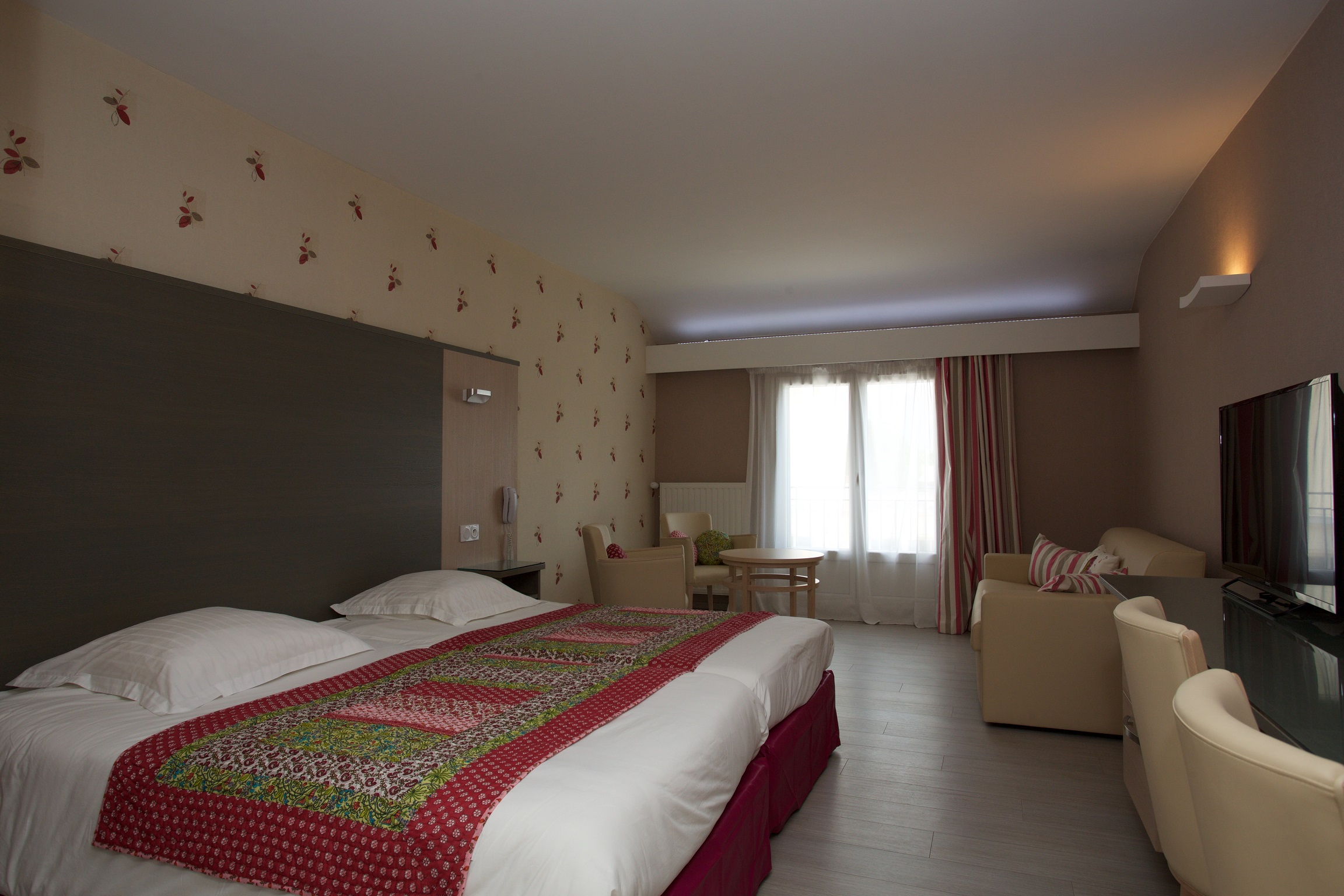 Hotel Beau Site chambre famille