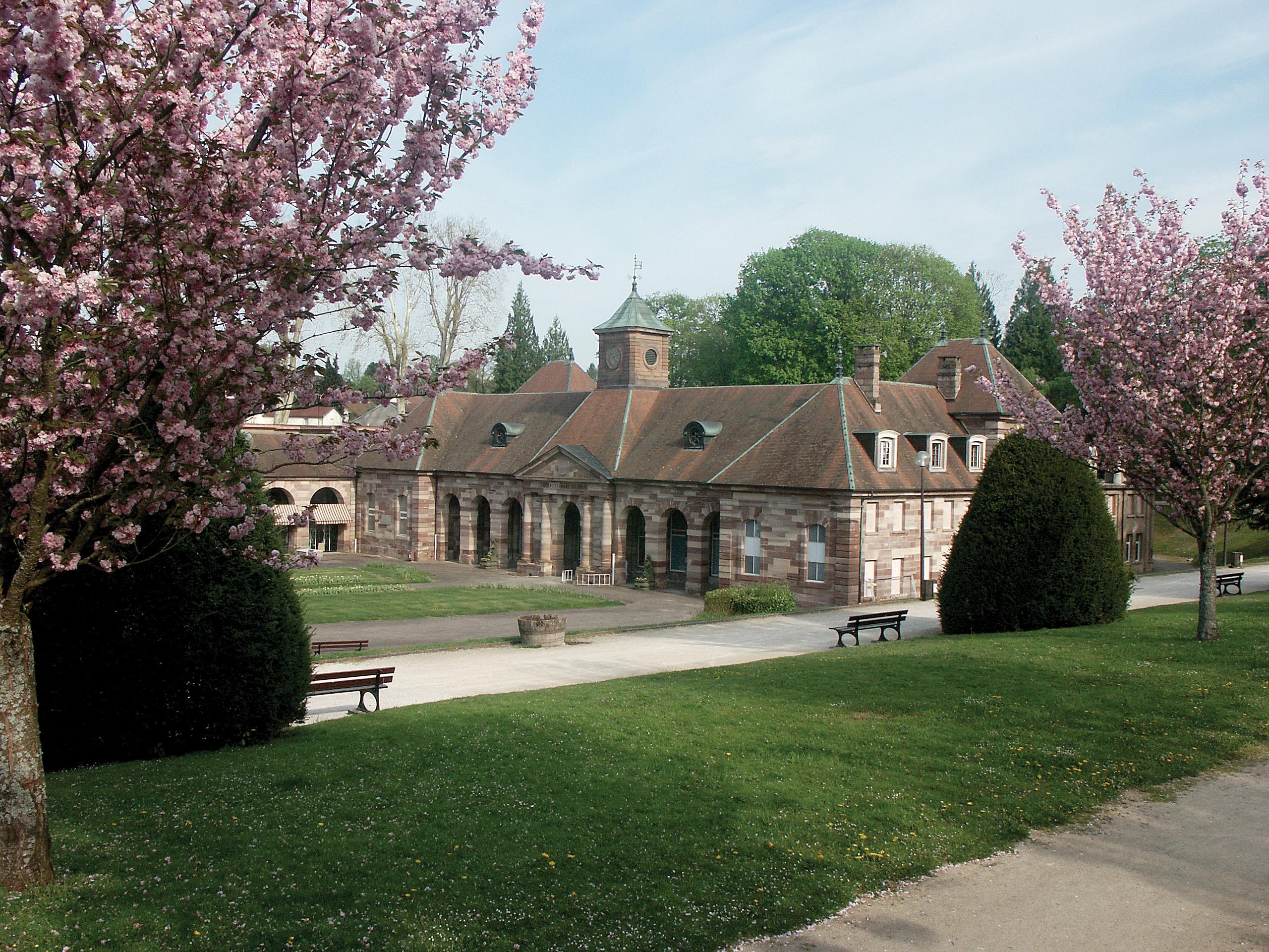 parc des thermes Luxeuil