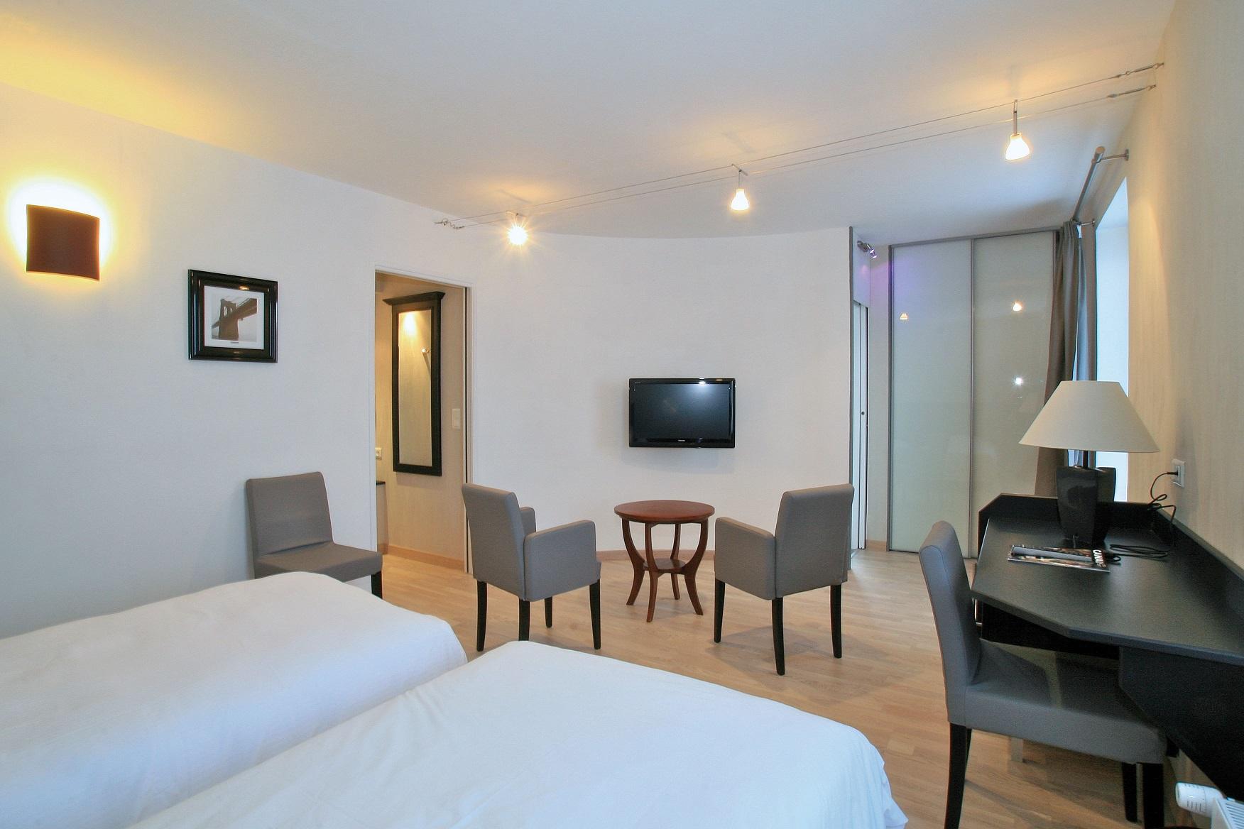 chambre privilège à deux lits 101