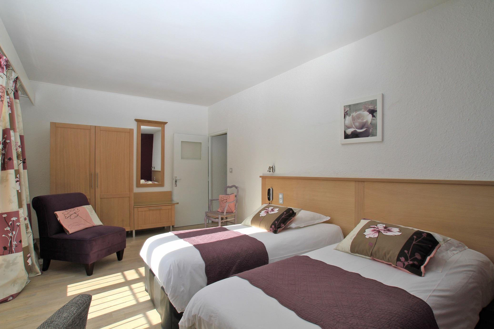 chambre privilège à deux lits 206