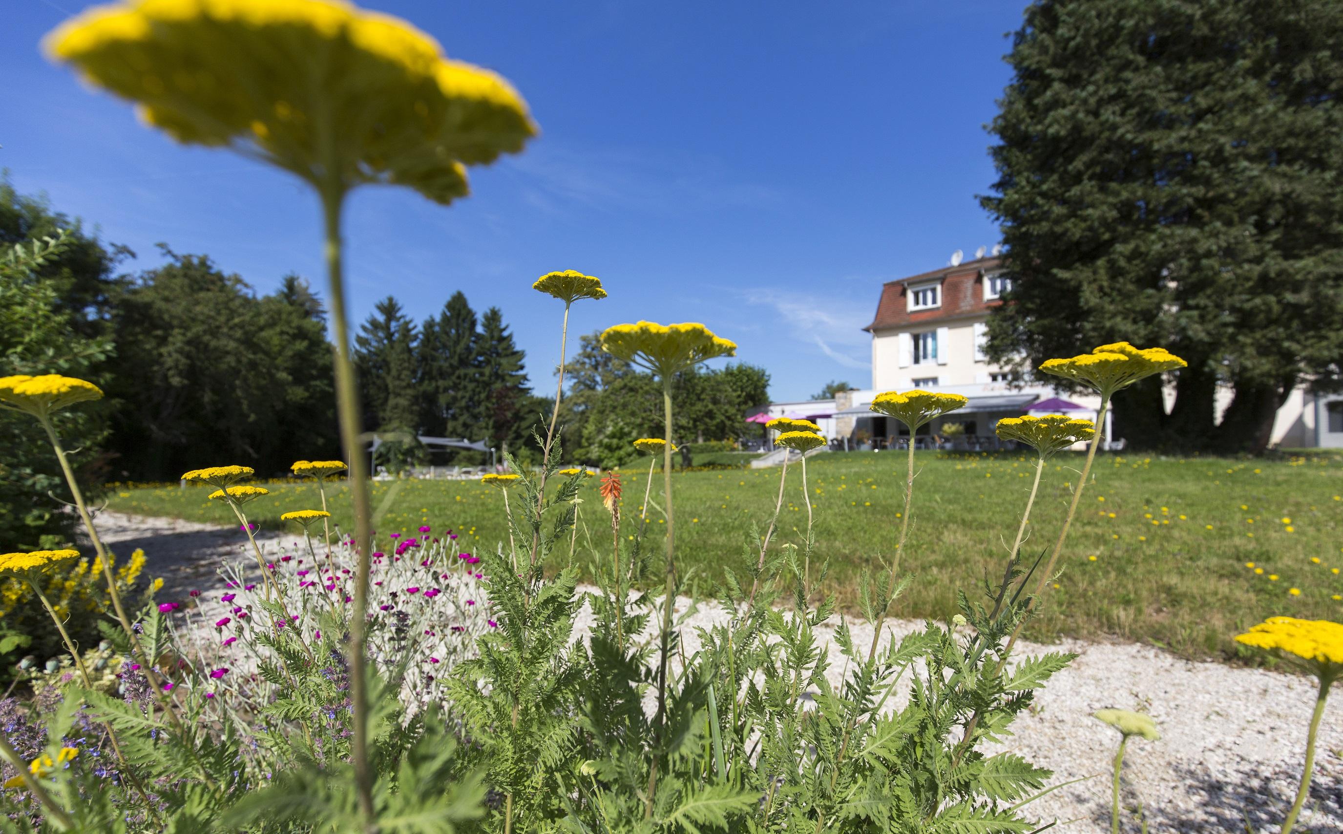jardin hotel Beau Site Luxeuil