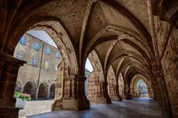 cloîtres abbaye Luxeuil-les-Bains