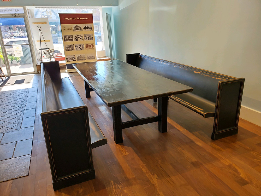 Custom Table With Bench