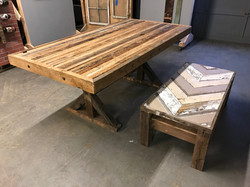 Reclaimed Timber table 5