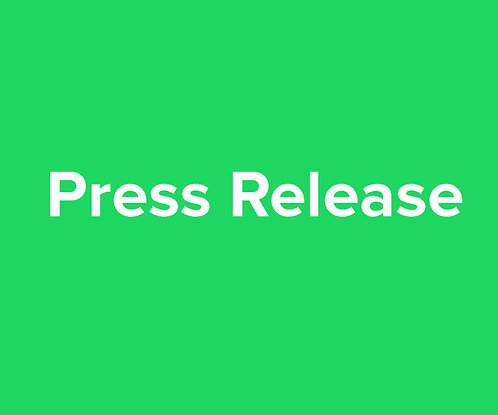 Write a Press Release for your Project.