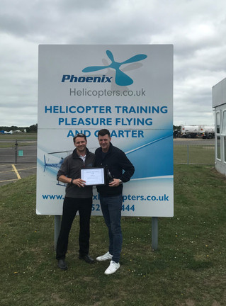 Congratulations to PJ for passing his PPL from our Blackbushe branch