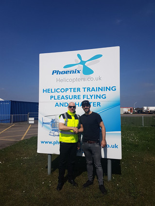 Charlies' first solo! Congrats, keep up the good flying