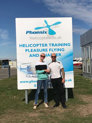 First solo for Ginta training from Blackbushe, spectacular flying!