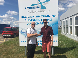 Congratulations George! First solo accomplished, keep up the good work.