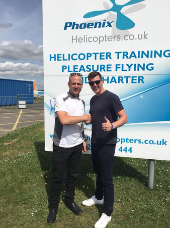 Well done PJ! First solo, tick!