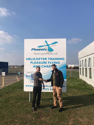 Well done to Marco for passing his PPL at our Blackbushe branch!
