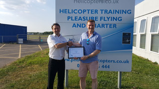Congratulations to Adam for passing his PPL! Keep up the fantastic flying.
