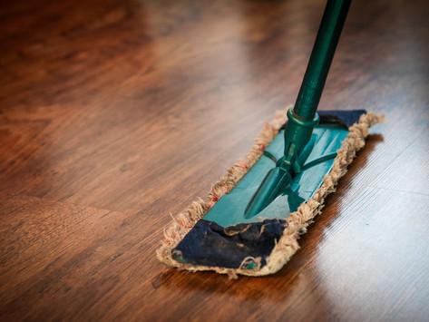 Protecting polished floors