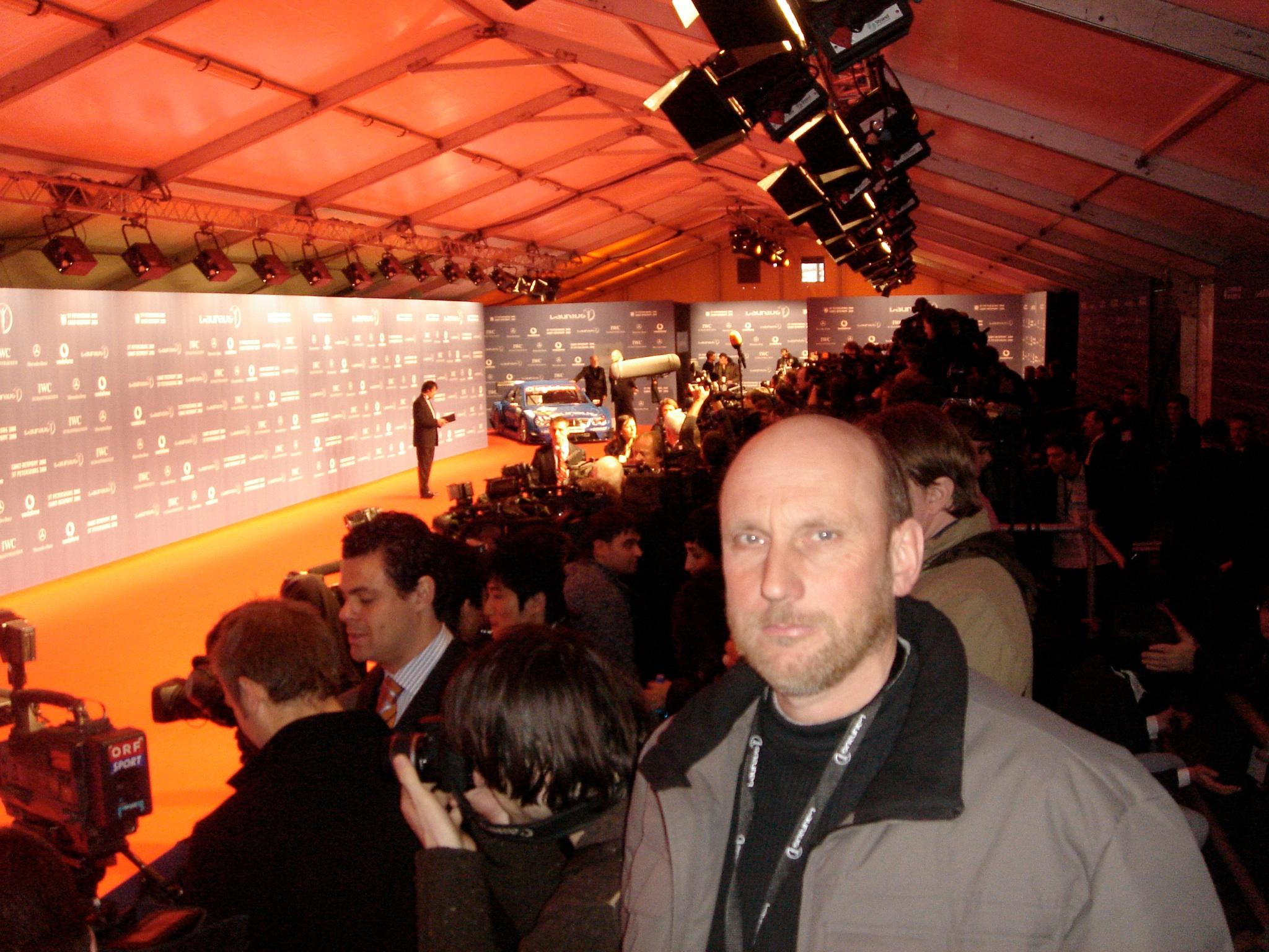 Laureus Sports Awards Presseaufmarsch