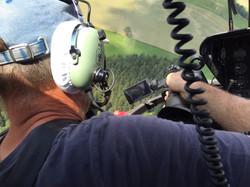 Action im Flug