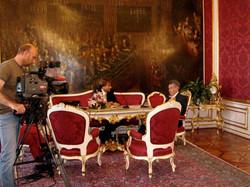Reportage bei Heinz Fischer