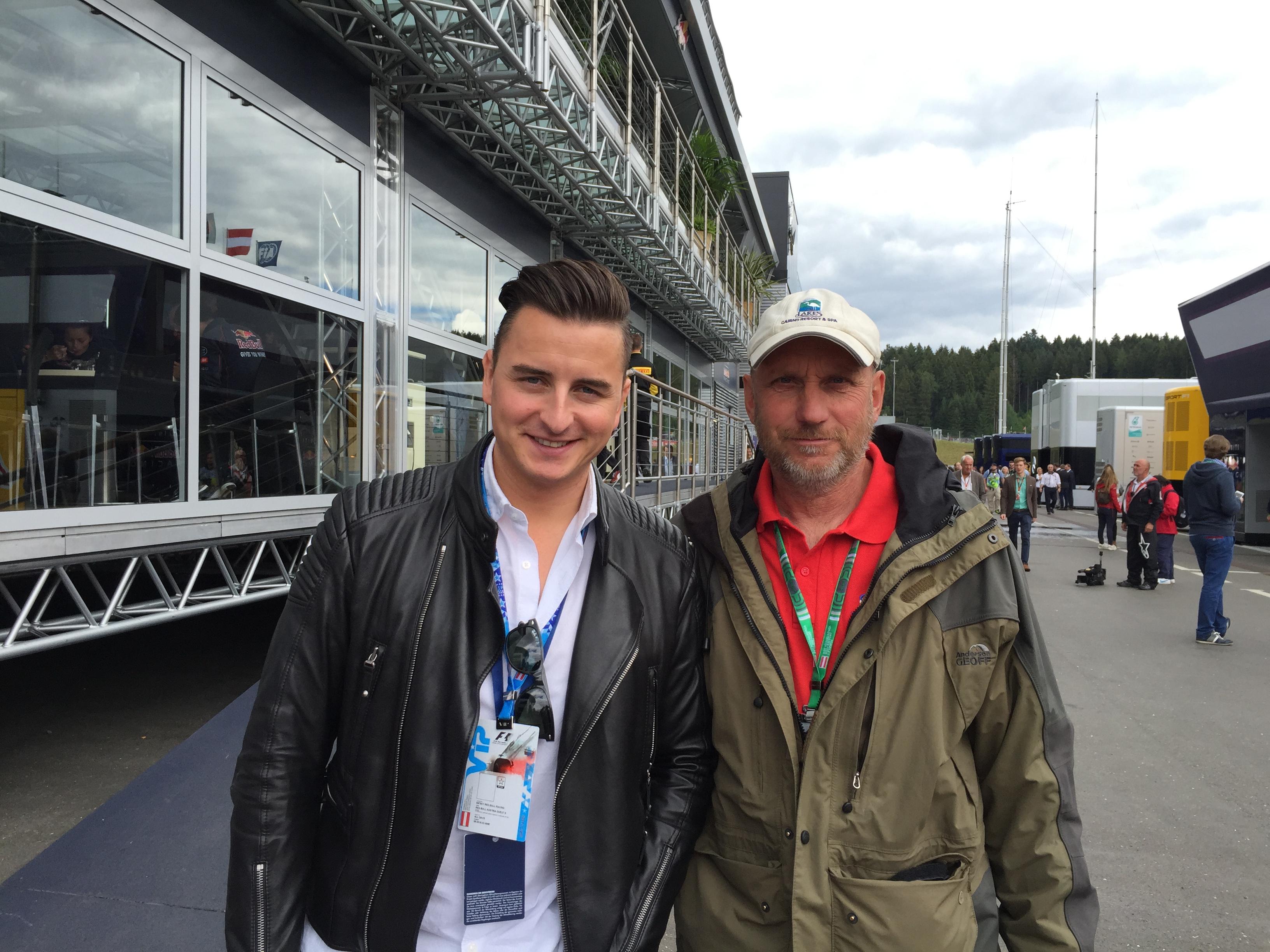 Formel 1 Spielberg: Andreas Gabalier