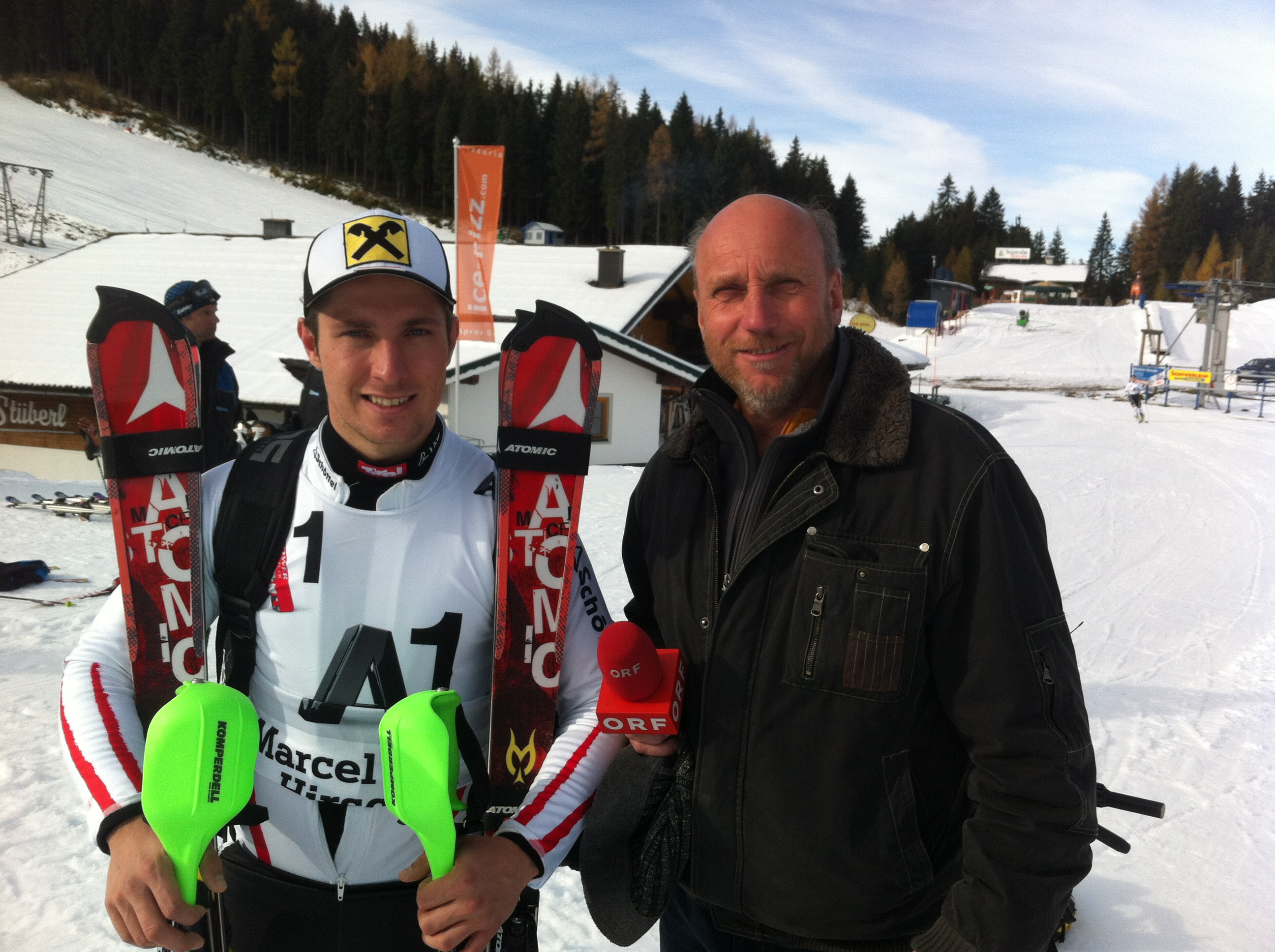 Training Marcel Hirscher
