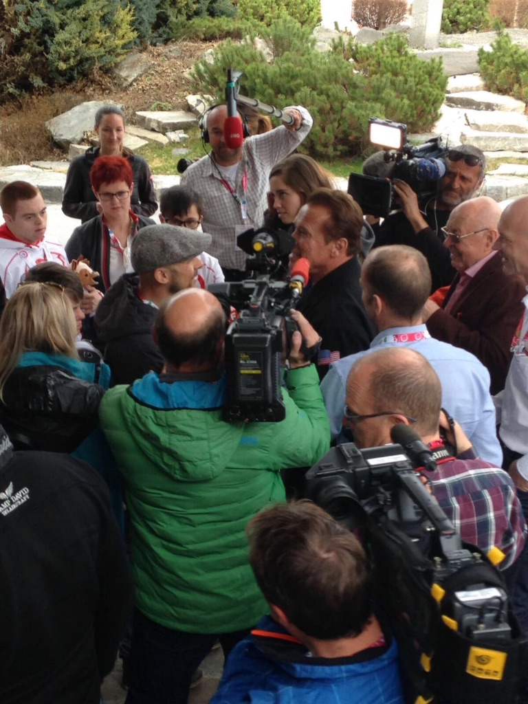 Special Olympics Schladming: Rummel um Schwarzenegger