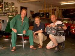 in der Garage bei Peter Kraus