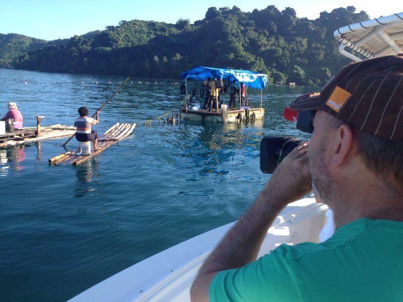 Perlenzucht auf Fiji