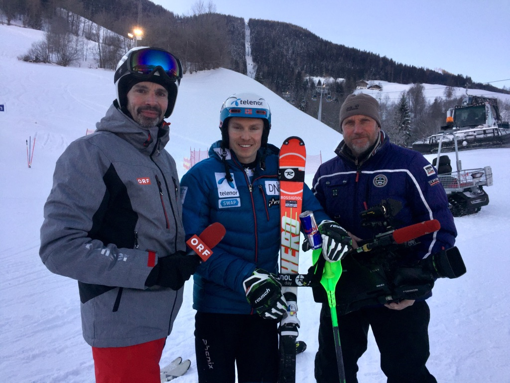 Training Night Race: Henrik Kristoffersen