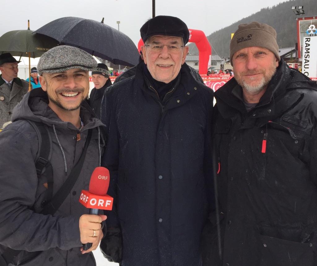 Special Olympics: Bundespräsident Alexander VdB